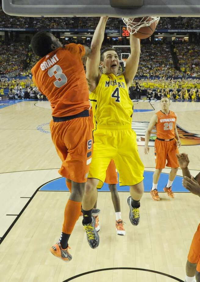 Center  Mitch McGary, 6-11, Michigan  McGary is coming off back surgery which makes has made evaluations difficult. He could slip out of the first round, but not much further. Photo: Chris Steppig, McClatchy-Tribune News Service