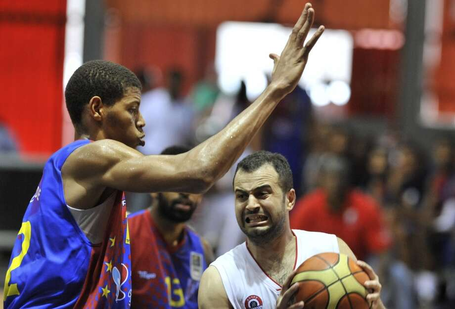 Center  Walter Tavares (left), 7-3, Gran CanariaA raw, long-term project, Tavares' great size will make someone willing to wait. Photo: ISSOUF SANOGO, AFP/Getty Images