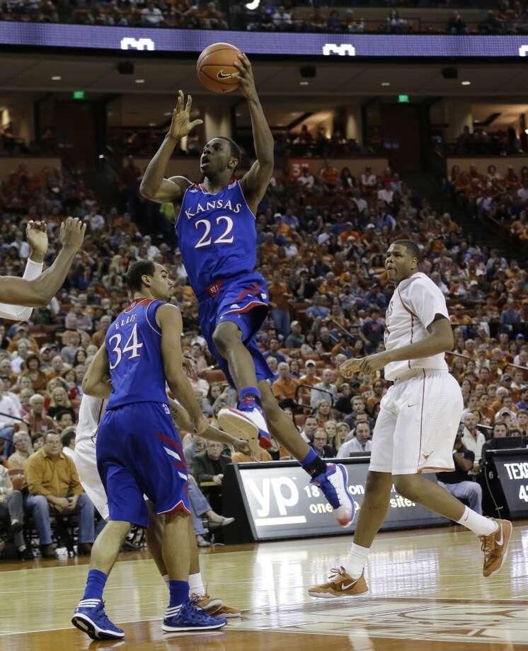 Forward  Andrew Wiggins, 6-8, Kansas  Still a contender for the top pick of the draft, a position long assumed for him, Wiggins is slightly more of a risk than Jabari Parker, but probably has great upside, particularly defensively. Photo: Eric Gay, Associated Press