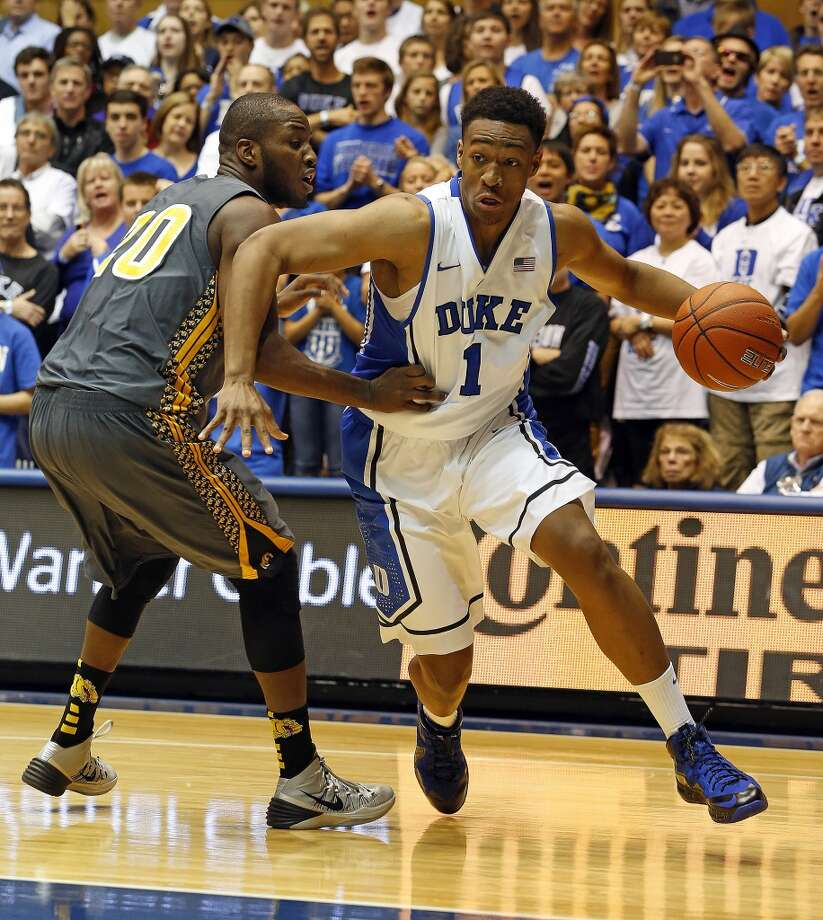 Forward  Jabari Parker, 6-8, Duke  About as ready-made as any prospect, Parker's strong offensive game could make him the first player taken. Photo: Karl B DeBlaker, Associated Press