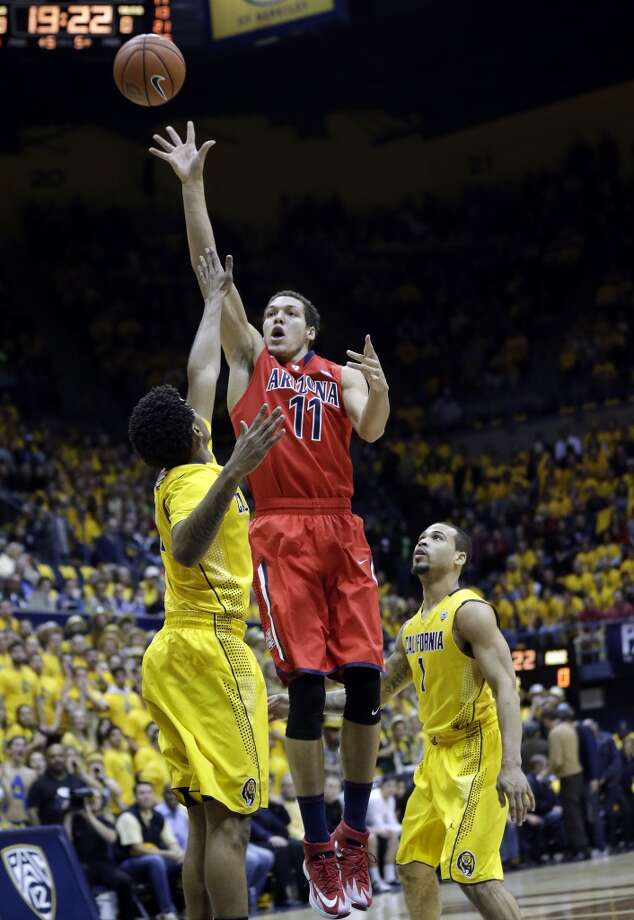 Forward  Aaron Gordon, 6-9, Arizona  Gordon might be caught a bit between small and power forward, but brings tremendous athleticism and could rebound and defend quickly. Photo: Marcio Jose Sanchez, Associated Press