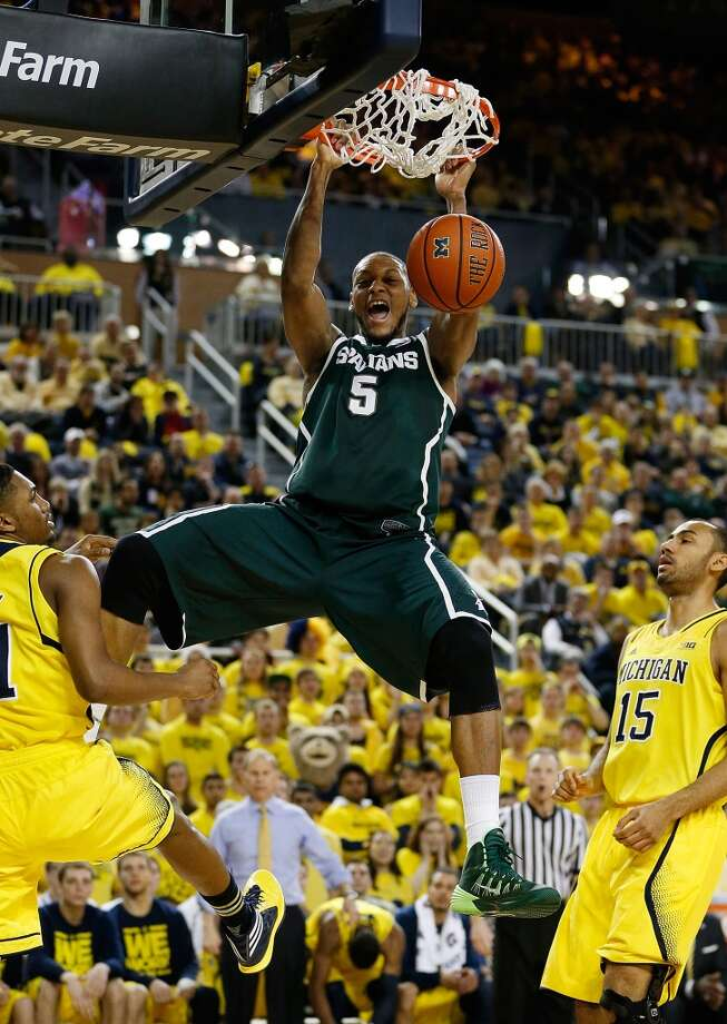 Forward  Adreian Payne, 6-10, Michigan StateOne of the top seniors in the draft, Payne's combination of size with a perimeter shooting touch could allow him to slip into the lottery. Photo: Gregory Shamus, Getty Images