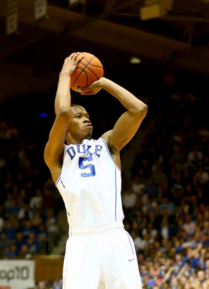 Forward  Rodney Hood, 6-8, DukeOvershadowed at Duke, Hood's perimeter shooting touch and talents as a scorer could develop nicely in the NBA. Photo: Streeter Lecka, Getty Images
