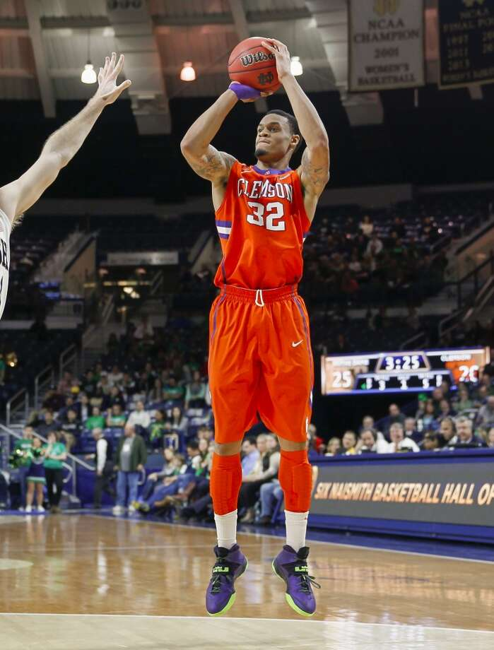 Forward  K.J. McDaniels, 6-6, Clemson  There have been signs of McDaniels moving up some boards because of outstanding athletic ability which should translate well defensively. Photo: Michael Hickey, Getty Images