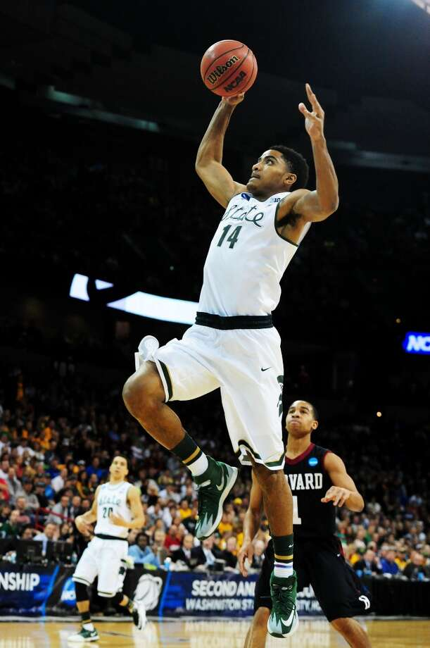 Guard  Gary Harris, 6-5, Michigan StateThere were some questions about Harris' jump shot last season, but that no longer seems too great a concern, especially with his determined, defensive mindset and more versatile game. Photo: Steve Dykes, Getty Images