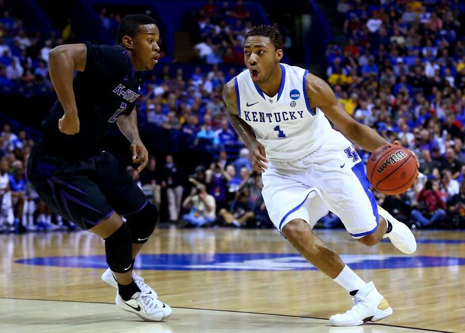 Guard  James Young, 6-7, Kentucky  With tools to develop, teams will look past an up-and-down season at Kentucky and take their time with one of the youngest players in the draft. Photo: Dilip Vishwanat, Getty Images