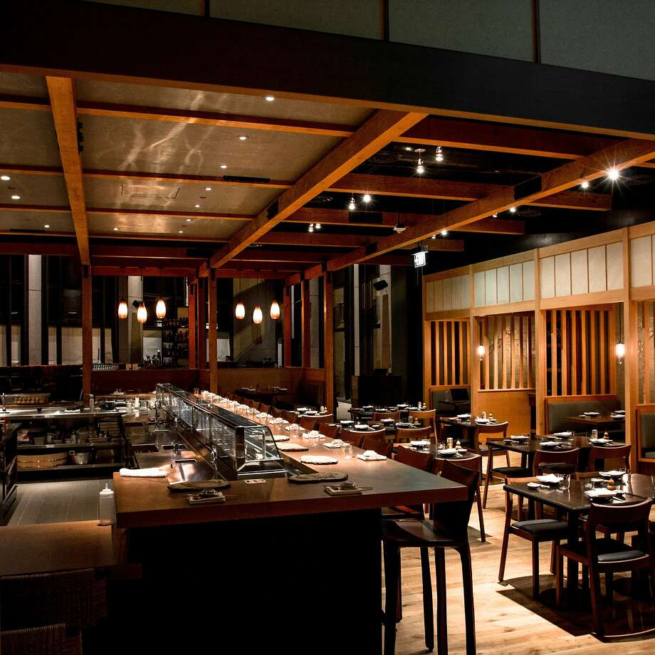 Pabu, from Michael Mina and Ken Tominaga, bills itself as an izakaya serving sushi. Photo: Gary FX LaMorte