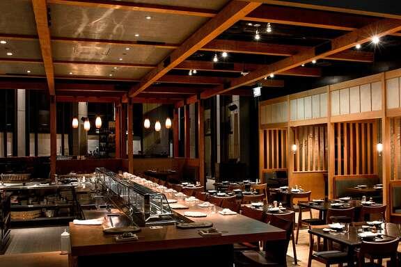 Pabu, from Michael Mina and Ken Tominaga, bills itself as an izakaya serving sushi.