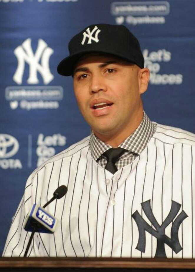 Carlos Beltran, Yankees Photo: Bill Menzel