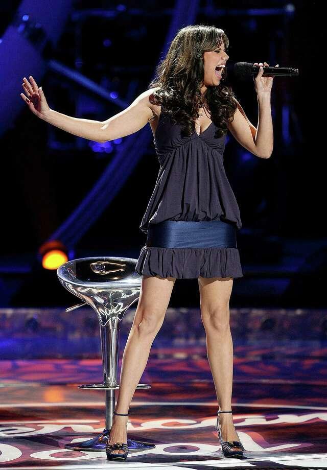 "Taft High grad Haley Scarnato finished eighth in ""American Idol's"" sixth season. Photo: FRANK MICELOTTA, FOX"