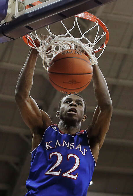 Andrew Wiggins is viewed as having more star potential than Jabari Parker, the other candidate to go No. 1. Photo: Brandon Wade, FRE / FR168019 AP