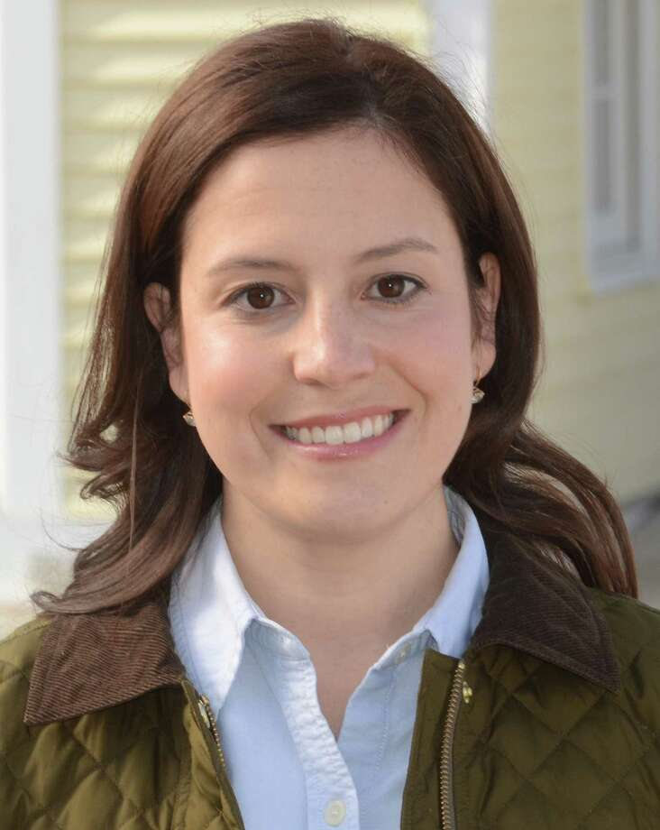 This undated photo provided by the Elise for Congress campaign, shows candidate Elise Stefanik. The former Washington political staffer is running against businessman Matthew Doheny in the Republican primary on Tuesday, June 24, 2014. (AP Photo/Elise for Congress Campaign) / Elise for Congress Campaign
