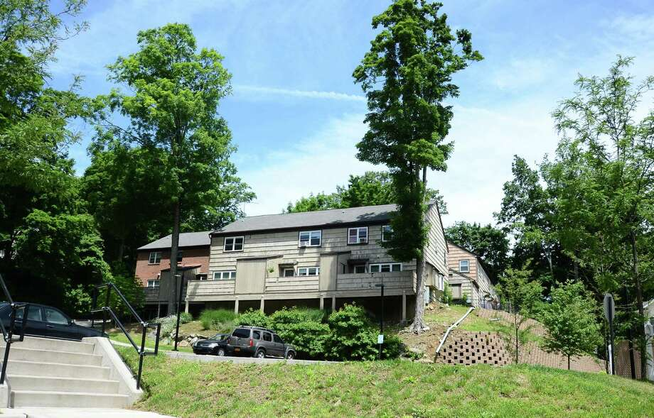 The Millport Apartments in New Canaan, Conn., soon will undergo a major expansion that will turn the existing 18 units into about 80 new ones, according to the New Canaan Housing Authority. Photo: Nelson Oliveira / New Canaan News