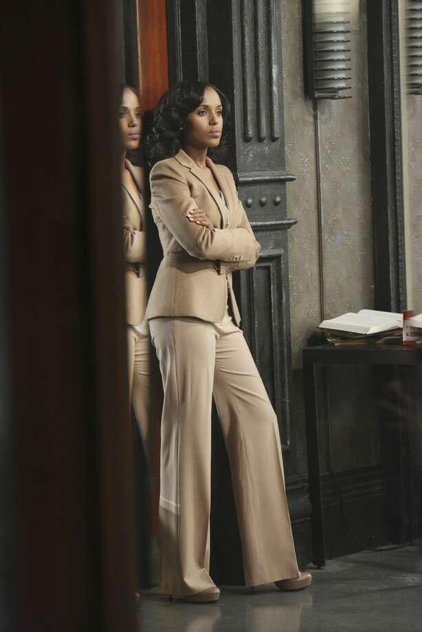 "Kerry Washington  in ABC's ""Scandal"" Photo: ABC"