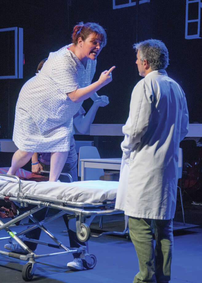 A scene from âÄúNext to NormalâÄù is shown here. The play opens Friday, July 4, at The Brookfield Theatre for the Arts. Photo: Contributed Photo/Stephen Cihane, Contributed Photo / The News-Times Contributed