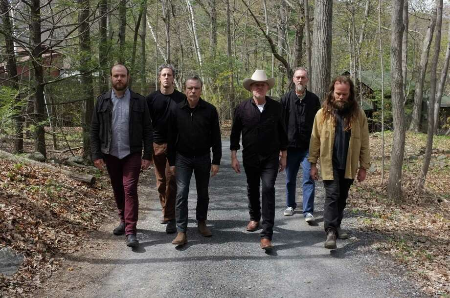 Rock band Swans is led by Michael Gira, sporting a cowboy hat. Photo: Fionn Reilly