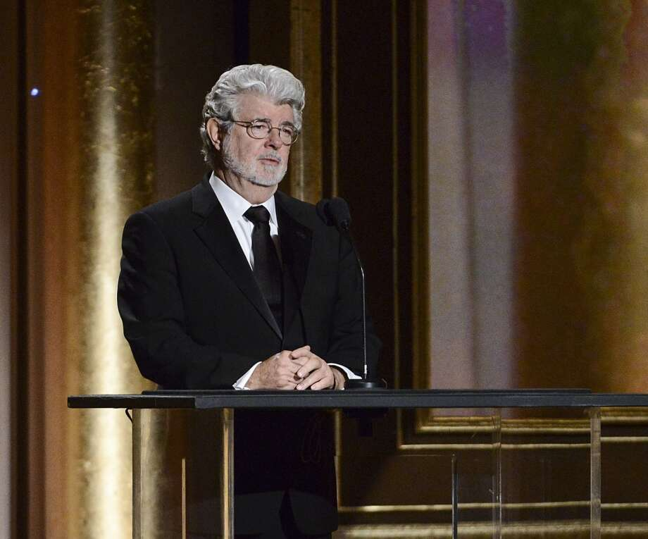 "In this Nov. 16, 2013 file photo, Producer George Lucas speaks at the Governors Awards in Los Angeles. The ""Star Wars"" creator Lucas has selected Chicago to house his much anticipated museum of art and movie memorabilia. Photo: Dan Steinberg, Associated Press"