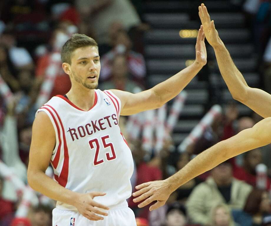 1. Chandler Parsons, forward, 38th pick in 2011   Parsons is likely the best player taken or acquired in Daryl Morey's seven drafts, likely to be coveted free agent next month. When considering his draft position, he is by far the best bargain. Photo: Smiley N. Pool, Houston Chronicle
