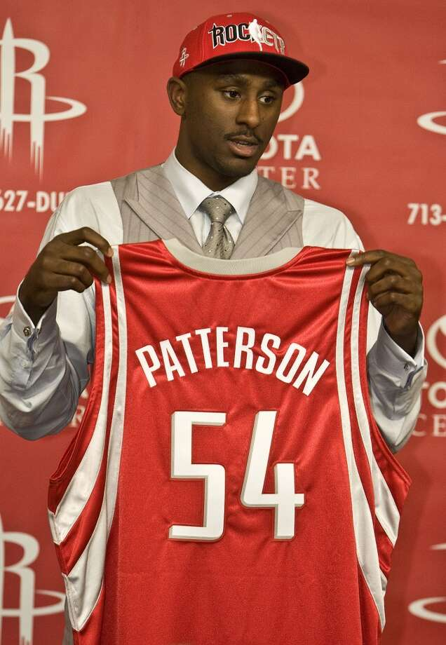 5. Patrick Patterson, forward, 14th pick in 2010   Patterson became the Rockets' starting power forward last season and was solid before a stunning deal sent him to Sacramento at the trade deadline. Though hampered by ankle injuries that took some of his explosiveness, he has established himself as a dependable scorer and defender. Photo: James Nielsen, Houston Chronicle