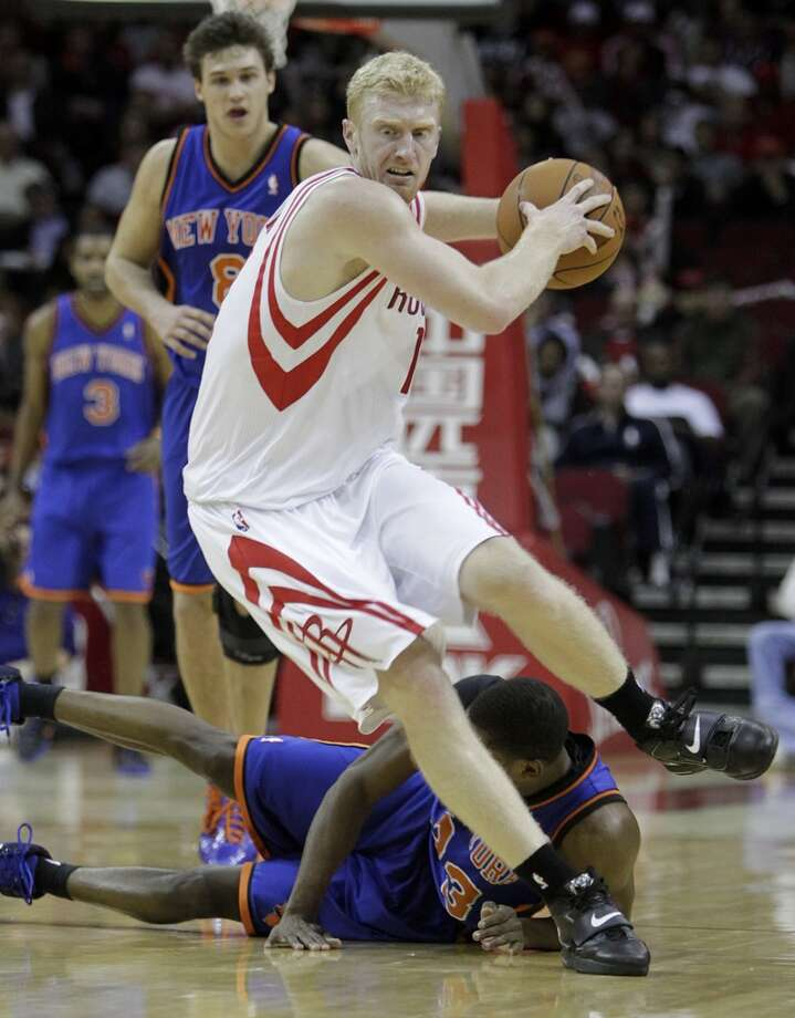 6. Chase Budinger, forward, 44th pick in 2009 (via Detroit)   Budinger's career was stalled with knee problems in Minnesota, but he has been established as a strong scorer off the bench in another second-round success. Photo: Karen Warren, Houston Chronicle