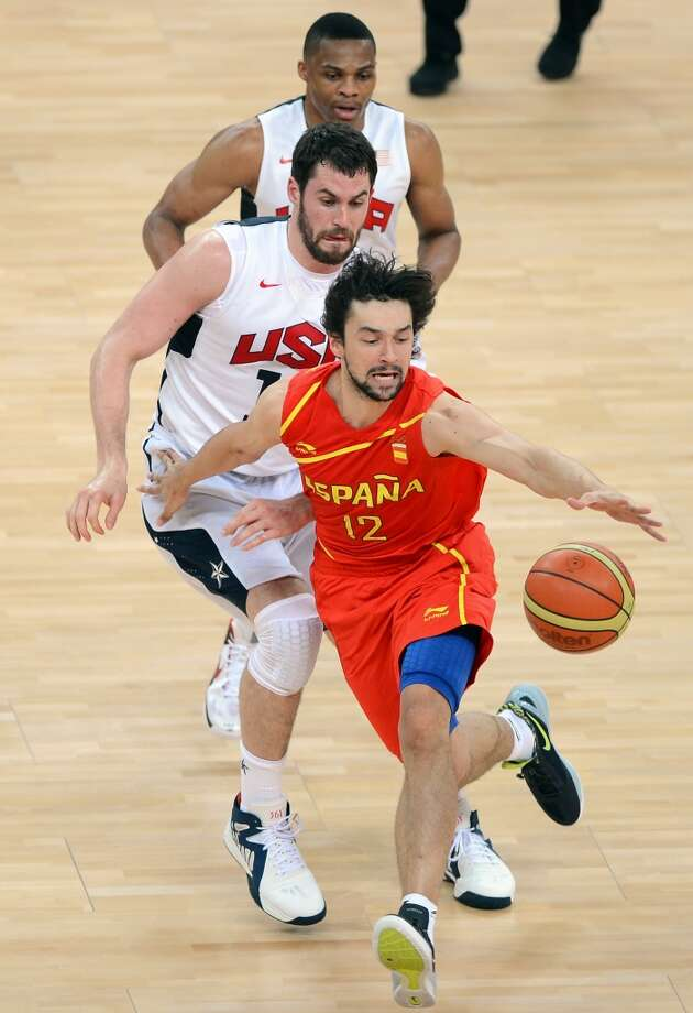 8. Sergio Llull, guard, 34th pick in 2009 (via Denver)   Llull and the Rockets have been waiting for the right time for Llull to make the jump, but after several seasons with Real Madrid and in FIBA Tournaments, he is considered a better prospect than when he was drafted. Once he makes the move, he likely will jump several spots on the list. Photo: Martin Bureau, Getty Images