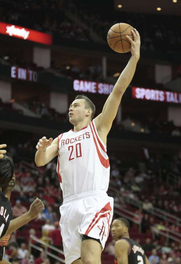 9. Donatas Motiejunas, forward, 20th pick in 2011Motiejunas has shown encouraging signs, especially offensively, but has failed to earn a consistent spot in the Rockets rotation even with their search for answers at his position. Photo: Billy Smith II, Houston Chronicle