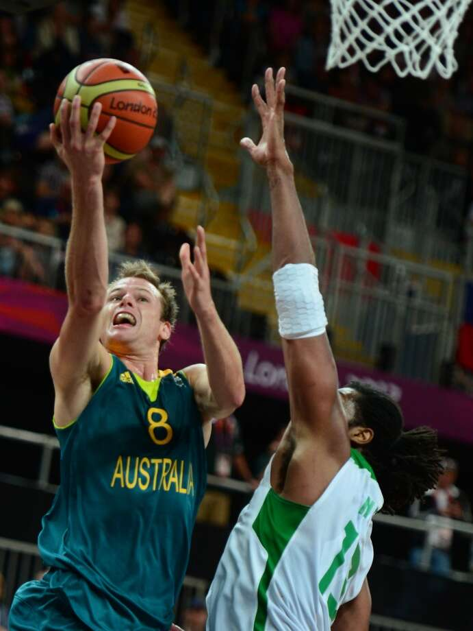 15. Brad Newley, guard, 54th pick in 2007   A good shooter in Europe and with the Australian national team, Newley played with the Rockets' summer-league team but was never was offered a contract. Photo: Emmanuel Dunand, Getty Images