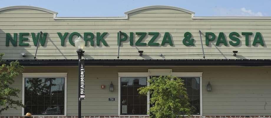 PIZZA:New York Pizza & Pasta,4405 Calder Avenue, Beaumont,(409) 892-6535.790 Neches Street, Beaumont,(409) 832-7032.