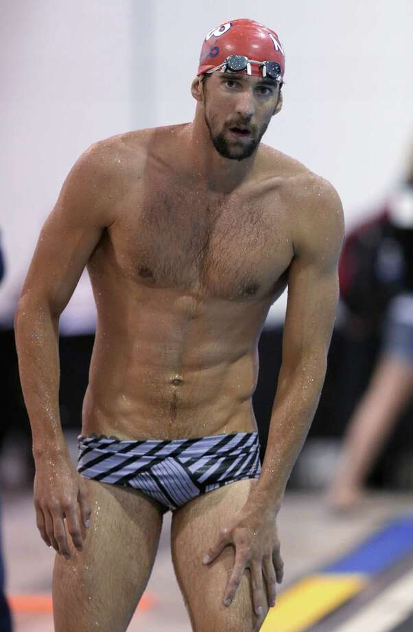 Olympic swimmer Michael Phelps Photo: Chuck Burton, Associated Press / AP
