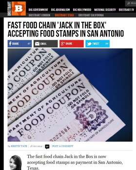 Does Jack In The Box Accept Food Stamps