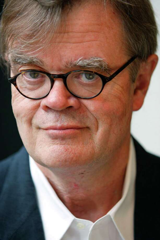 "Garrison Keillor, Feb. 15, The Egg. Humorist carries on after end of ""Prairie Home Companion."" Photo: ANDREW HARRER"