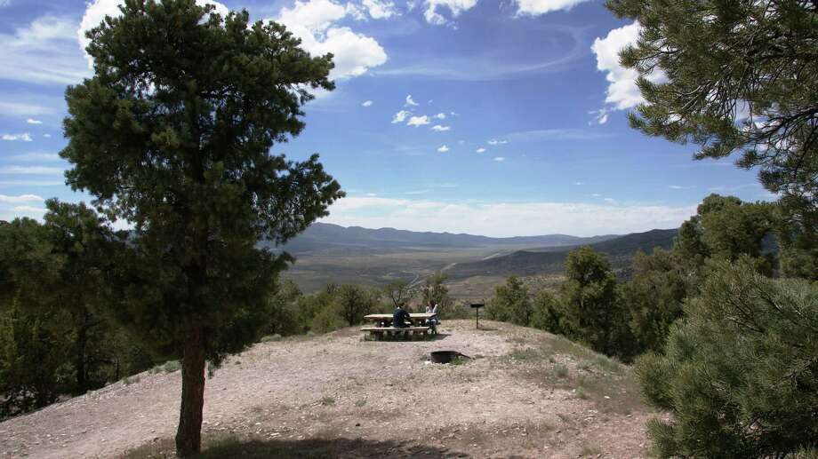 Rock hounding works up your appetite! Garnet Hill near Ely in northern Nevada has four picnic sites with grills. CREDIT: BLM Photo: Travel Nevada