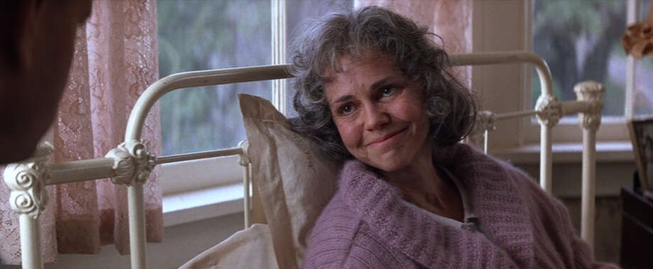 "In real life, Sally Field (who played Forrest's mother) is only 10 years older than Hanks and had previously played his love interest in 1988's ""Punchline."" Photo: Paramount Pictures"