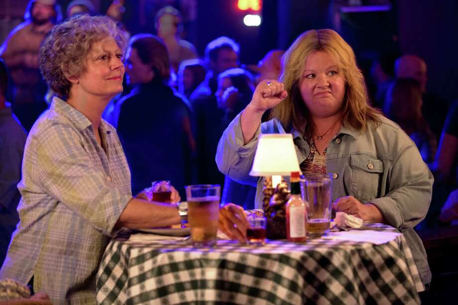 "Susan Sarandon and Melissa McCarthy in ""Tammy"" Photo: Michael Tackett / (c) 2013 Warner Bros. Entertainment Inc  Story and Screenplay"
