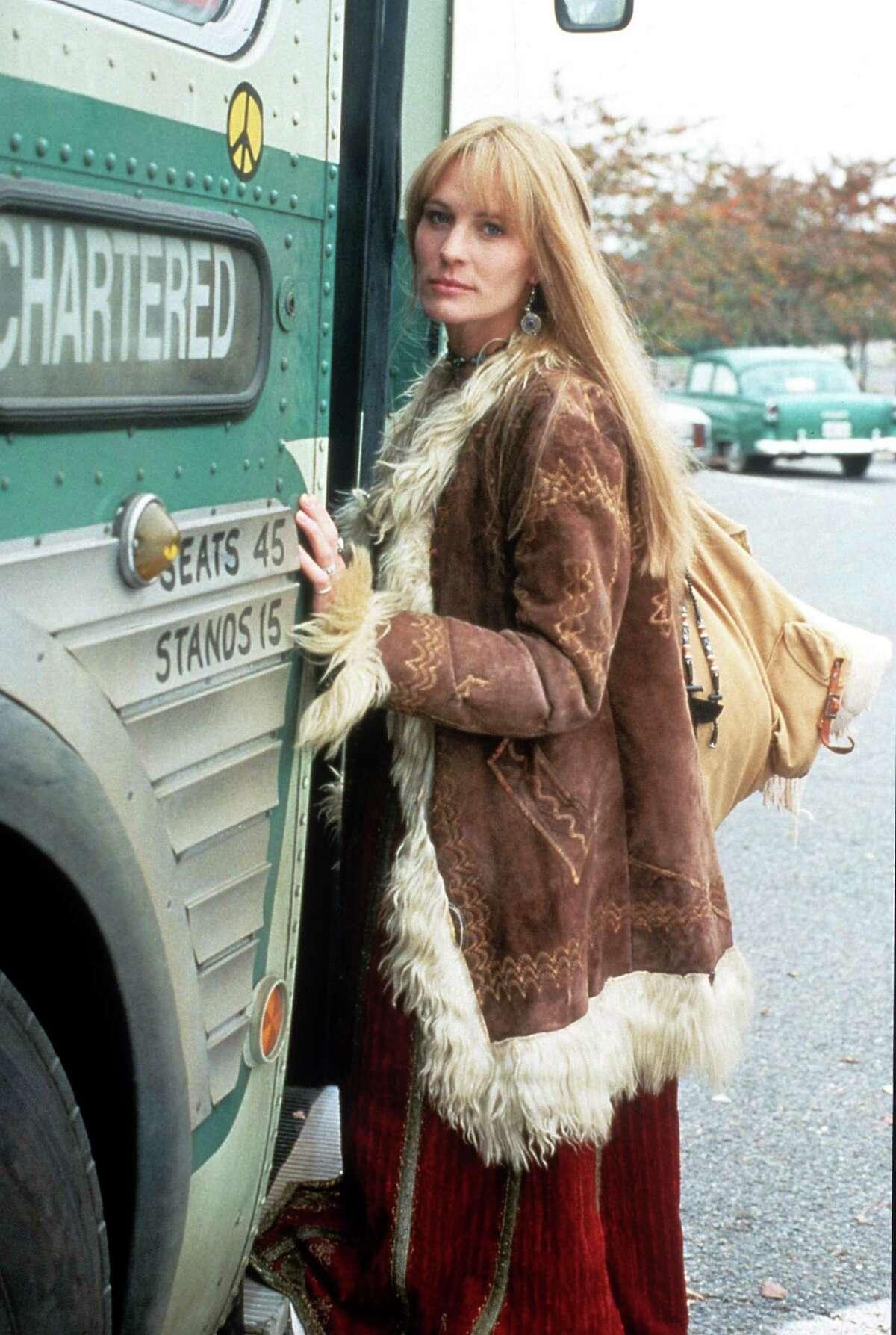 As Forrest's hippie love interest, Jenny, in 1994's