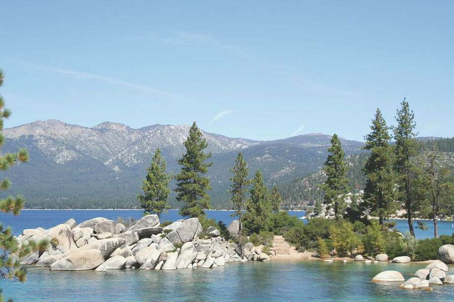 Sand Harbor, on the northern end of Lake Tahoe, has beaches, rock formations and a colorful history. Photo: Nevada Commission On Tourism