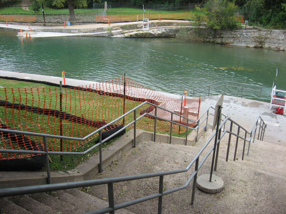 Renovations at Barton Springs in Austin totaling $4.5 million were finsihed just in time for summer. (Courtesy of Austin Public Works Department)