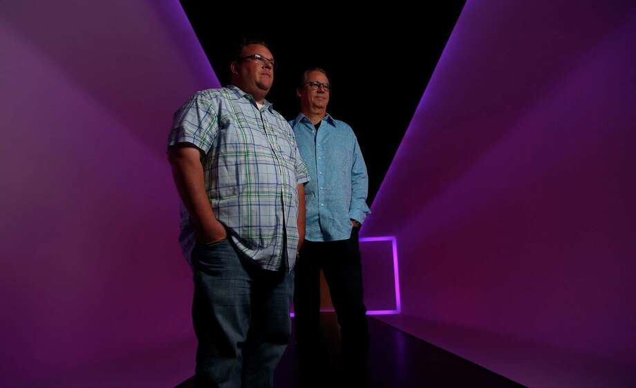 Robert Del Grande and Chris Shepherd are the only two chefs in Houston who have won the prestigious James Beard Best Chef Southwest award,22 years apart.  Photographed at the MFAH's Wilson Tunnel housing art by James Turrell, Tuesday, June 24, 2014, in Houston.  ( Karen Warren / Houston Chronicle  ) Photo: Karen Warren, Staff / © 2014 Houston Chronicle
