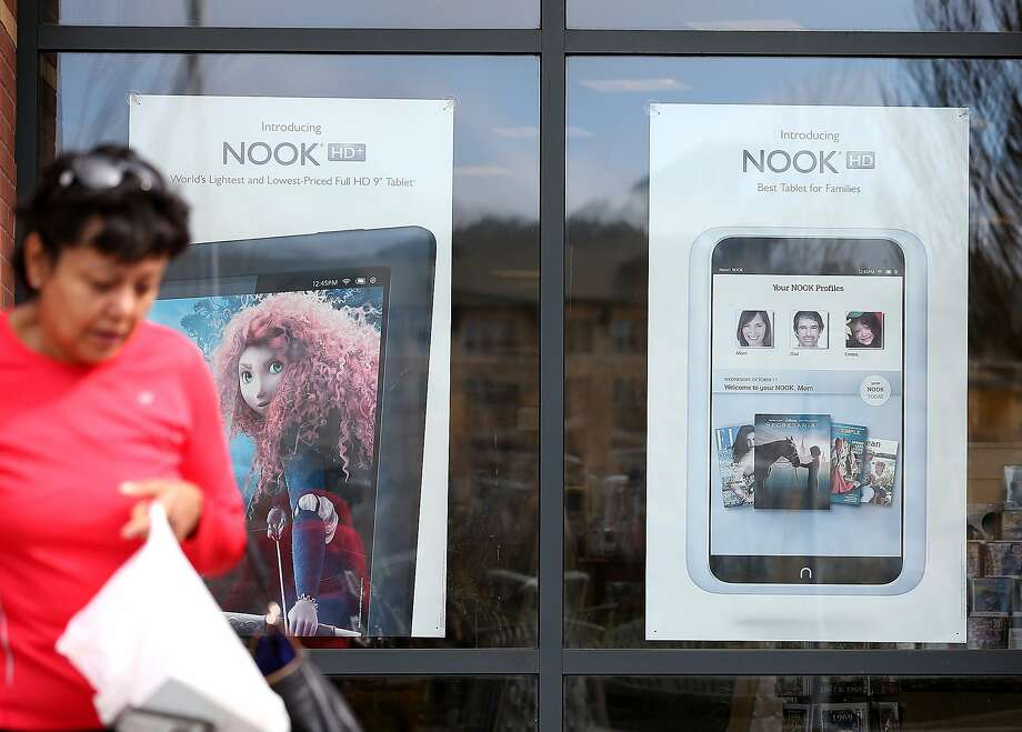 Barnes & Noble will spin off its business that produces the Nook e-reader, which has been losing money. Photo: Justin Sullivan, Getty Images