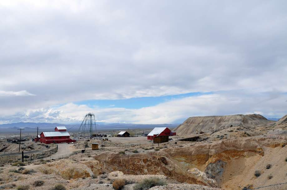 Explore old mining buildings and equipment at the Tonopah Historic Mining Park in central Nevada. Photo: Nevada Commission On Tourism
