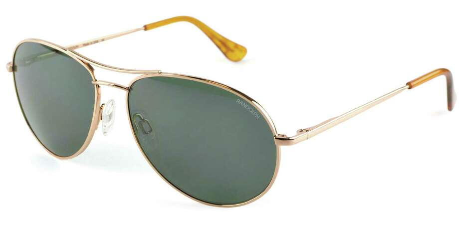 Aviator frames  are by Randolph Engineering, $189. Photo: The Vision Council / San Antonio Express-News