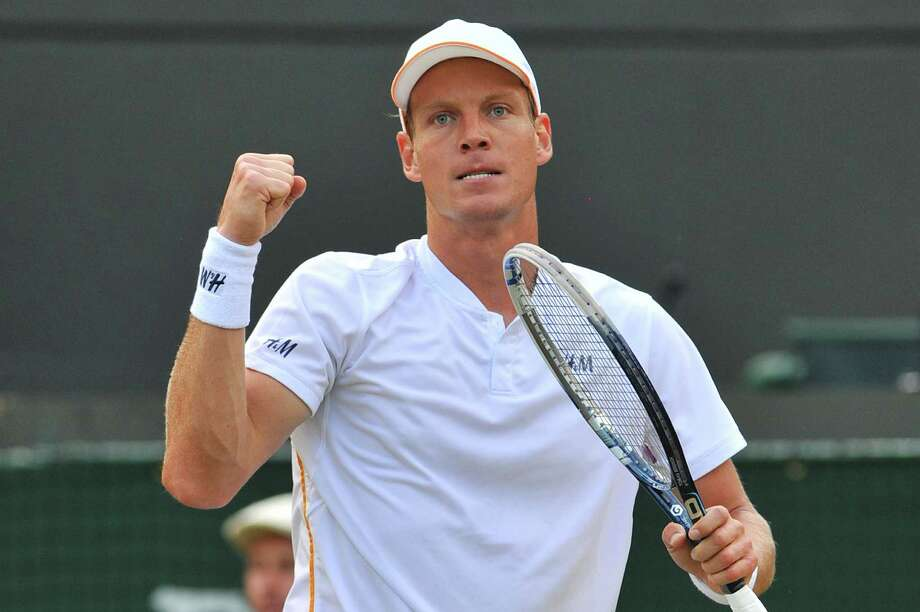 Tennis player Tomas Berdych Photo: GLYN KIRK, AFP/Getty Images / GLYN KIRK