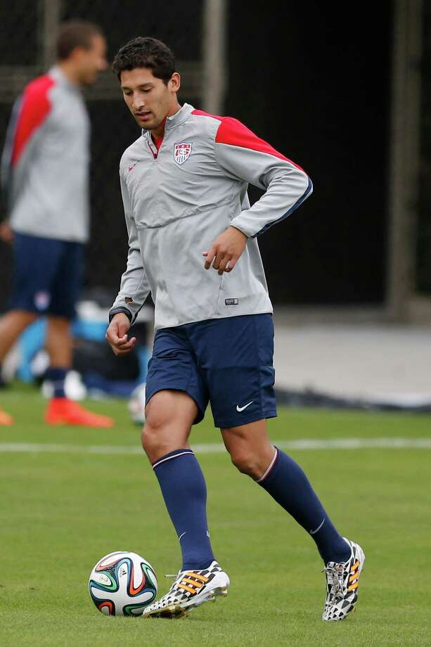 U.S. World Cup soccer player Omar Gonzalez Photo: Julio Cortez, Associated Press / AP