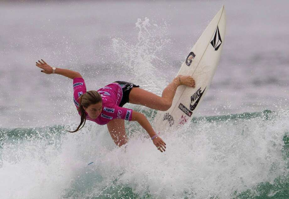 Professional surfer Coco Ho Photo: Silvia Izquierdo, Associated Press / AP