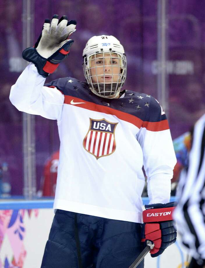 Olympic hockey player Hilary Knight Photo: Harry How, Getty Images / 2014 Getty Images