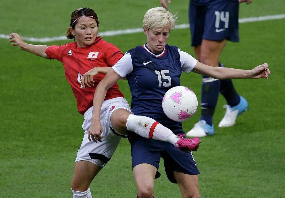 U.S. women's soccer star Megan Rapinoe Photo: Andrew Medichini, Associated Press / AP