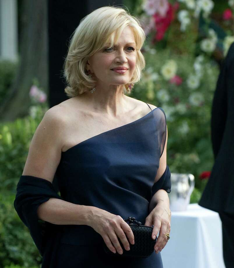 Diane Sawyer attends a state dinner for German Chancellor Angela Merkel hosted by President Barack Obama on June 7, 2011.  Photo: SAUL LOEB, Getty Images / 2011 AFP