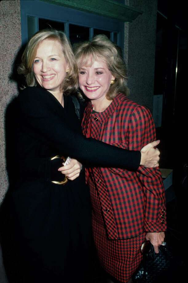 Diane Sawyer, left, is pictured with another TV news legend, Barbara Walters, in 1987.  Photo: Time Life Pictures, Getty Images / Time Life Pictures