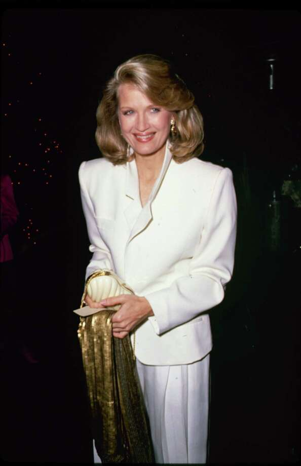 Diane Sawyer, in big shoulder pads.  Photo: Time & Life Pictures, Getty Images / Time & Life Pictures