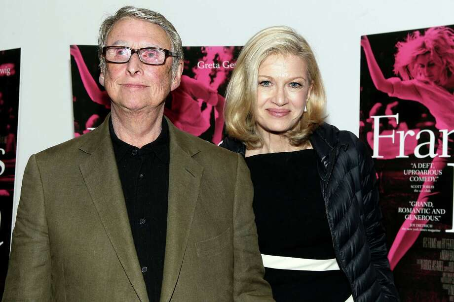 """Diane Sawyer and Mike Nichols at the """"Frances Ha"""" premiere on May 9, 2013 in New York City. Photo: Steve Mack, Getty Images / 2013 Steve Mack"""